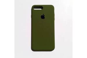 Чехол Silicone Case для Apple iPhone 7 Plus, 8 Plus Pinery Green