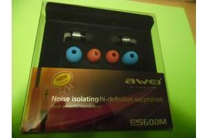Наушники Awei - ES600M Black (Новые)
