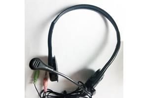Наушники с микрофоном и без для ПК различные модели