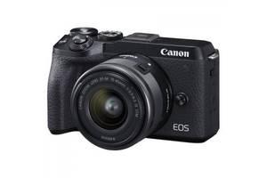 Фотоаппарат Canon EOS M6 Mark II + 15-45 IS STM + EVF Kit Black (3611C053)