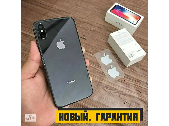 Новый Apple iPhone X 64GB Black/White