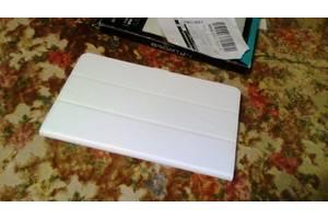 """новый белый чехол-книжка на планшет 10"""""""