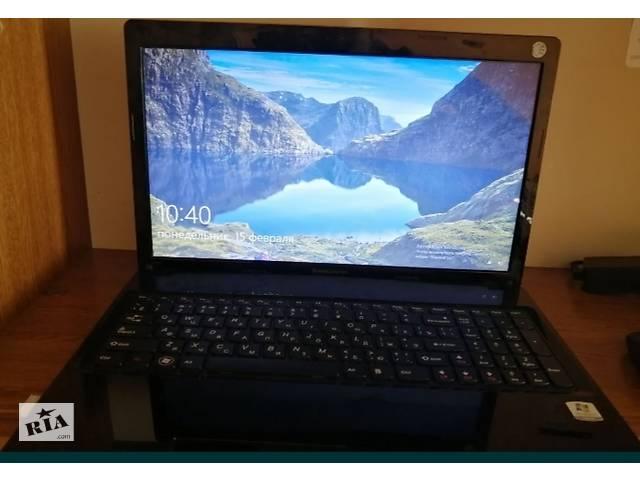 купить бу Lenovo G-580. Оперативная память 4, 2 Гб 4 ядра Windows10, все працюэ. Возможна отправка новая почта! в Ужгороде