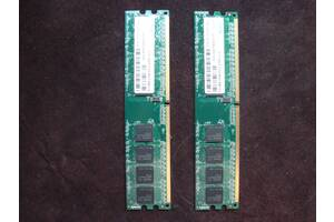 Оперативная память для настольных ПК на 512 Мб.