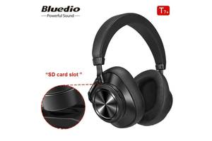 Original Bluedio T7 + PLUS SD card slot Turbine - 30 годин музики - Bluetooth наушники - гарнитура оригинал SD