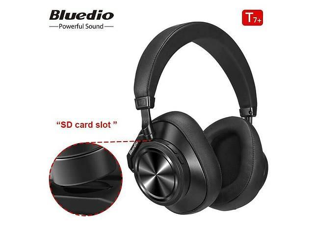 продам Original Bluedio T7 + PLUS SD card slot Turbine - 30 годин музики - Bluetooth наушники - гарнитура оригинал SD бу в Ровно