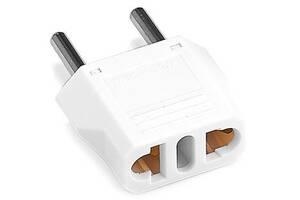 Переходник сетевой XoKo WC-110-WH на EU White
