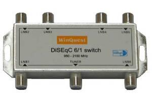 Переключатель DiSEqC 6x1 WinQuest GD-61A SKL31-150765
