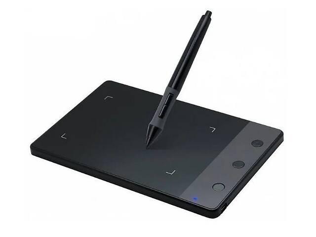 продам Планшет графический для рисования Huion H420 рабочая поверхность 110x60мм 3 настраиваемые клавиши (acf_00329) бу в Киеве