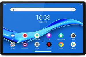 Планшетный ПК Lenovo Tab M10 Plus TB-X606F 128GB Iron Grey (ZA5T0095UA); 10.3 (1920х1200) IPS / Mediatek Helio P22T /...