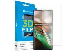 Пленка защитная MakeFuture 3D TPU Samsung Note 10 (MFU-SN10)