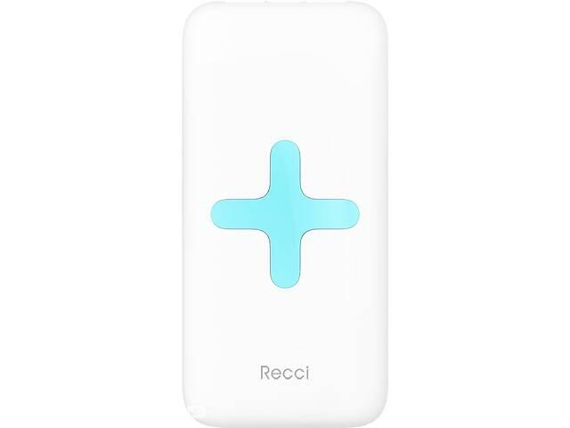 Портативная батарея Recci RK-7000 Power Bank Power IQ 2,1А Li-Pol 7000 mAh White RccF_55796- объявление о продаже  в Киеве