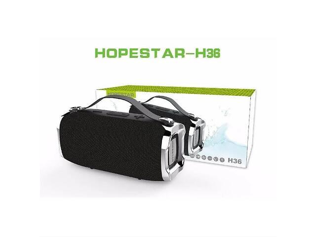 купить бу Портативная Мощная стерео колонка HOPESTAR H36 Оригинал, FM, SD, Bluetooth, USB, AUX. Лучшая цена! в Хмельницькому