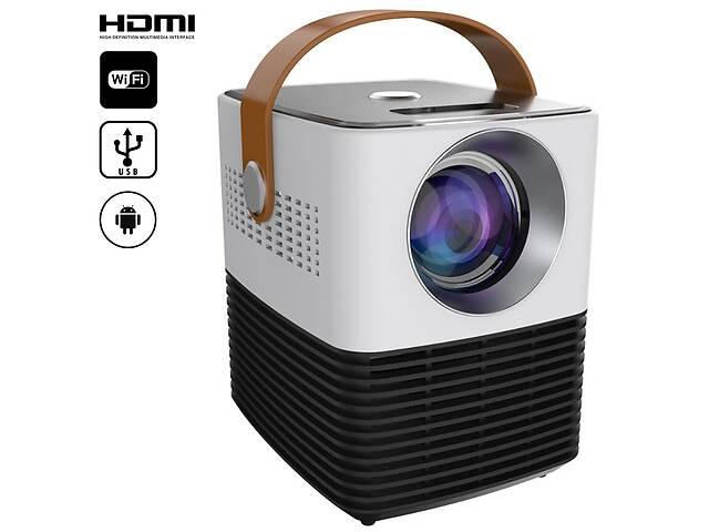 Портативный мини проектор Unic  L7 Mini Projector светодиодный домашний HD видеопроектор с ОС Android и модулем WiFi- объявление о продаже  в Одессе