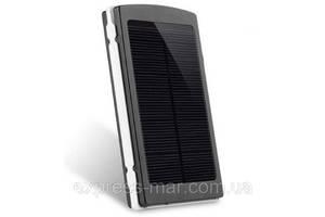 Power Bank 20000 mAh на солнечных батареях + Solar + Led панели
