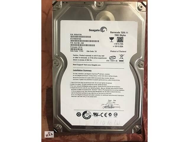 продам Продам HDD Seagate для ПК на 1,5 ТБ бу в Киеве