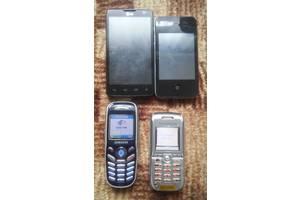 Продаж лот телефонів 4шт.(LG,Айфон 4(копія),самсунг,соні)