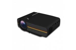 Проектор мультимедійний Led Projector Kronos YG400 з динаміком Black (gr_010742)