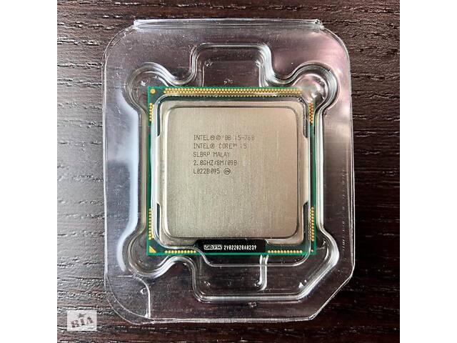 бу процессор intel i5-760 в Николаеве