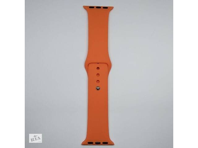 купить бу Ремешок Apple Watch 38mm M/L silicone Nectarine в Харькове