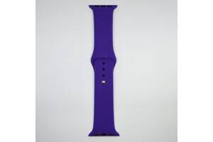 Ремешок Apple Watch 38mm M/L silicone Ultra voilet