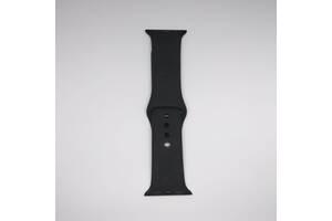 Ремешок Apple Watch 38mm S/M silicone Black