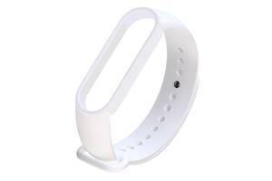 Ремешок для фитнес браслета Xiaomi Mi Band 5 White