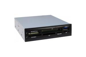 "Считыватель флеш-карт Nitrox USB3.0 3.5"" SD/MMC/MS/CF/xD/Micro SD/M2 (CI-01)"