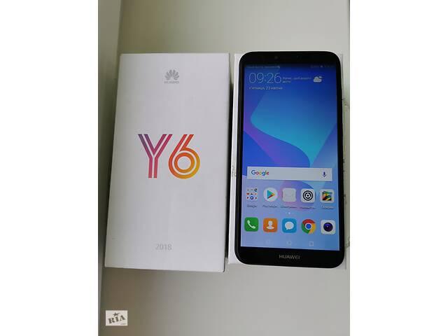 Смартфон Huawei Y6 2018 (ATU-L21) Black dual sim- объявление о продаже  в Києві