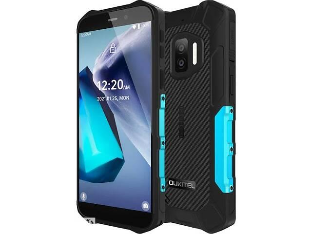 купить бу Смартфон OUKITEL WP12 4/32gb Blue IP68 в Киеве