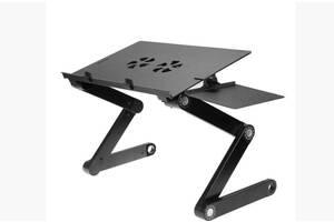 Стол для ноутбука Laptop Table T8 черный (20053100048)