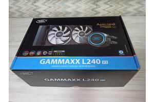 Система Жидкостного Охлаждения (СЖО) Deepcool GAMMAXX L240 V2 RGB