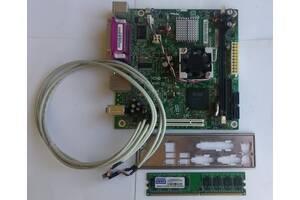 Системная плата Intel® D945GCLF для настольных ПК+бонус