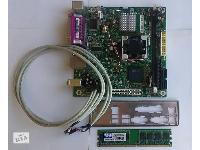 купить бу Системная плата Intel® D945GCLF для настольных ПК+бонус в Львове