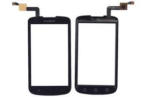 Тачскрин (Сенсорное стекло) для смартфона Prestigio MultiPhone 4000 DUO черный