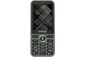 Телефон Sigma mobile X-Style 31 Power Grey (Код товара:10988)