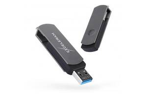 USB флеш накопитель eXceleram 64GB P2 Series Gray/Black USB 3.1 Gen 1 (EXP2U3GB64)