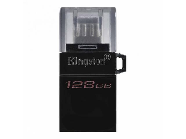 бу USB флеш накопитель Kingston 128GB microDuo USB 3.2/microUSB (DTDUO3G2/128GB) в Киеве