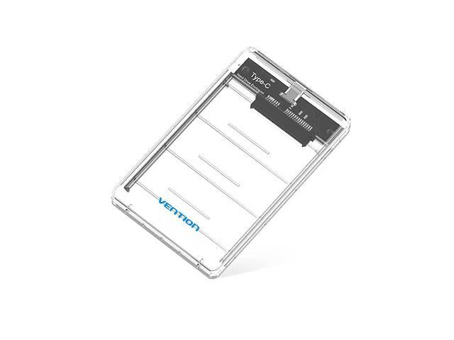 "Vention Внешний карман Vention USB3.1 Type-C для HDD/SSD 2.5"" SATA, White (KDGW0)- объявление о продаже  в Киеве"
