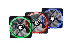 Вентилятор ID-Cooling RB-12025 (3pcs Pack), 120x120x25мм, 4-pin, черный