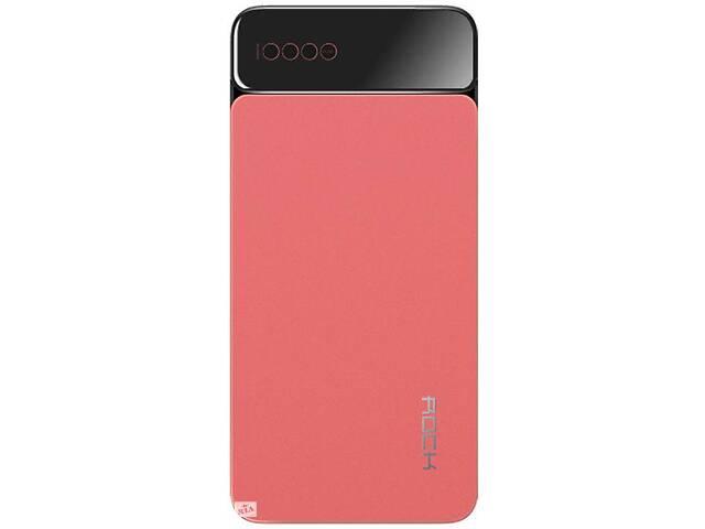 Внешний аккумулятор Power bank Rock P38 10000 mah with Digital Display Red- объявление о продаже  в Запорожье