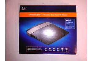 Wi-Fi роутер, маршрутизатор Cisco Linksys E2500 2.4/5GHz, MIMO 4 антенны