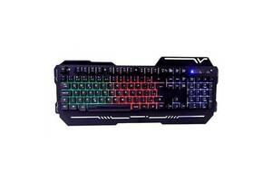 Игровая клавиатура с подсветкой Weibo Game Keyboard WB-539 Черная (110722)
