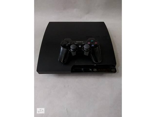 купить бу Игровая консоль приставка Sony PlayStation 3 slim 250Gb (прошитая) в Мариуполе