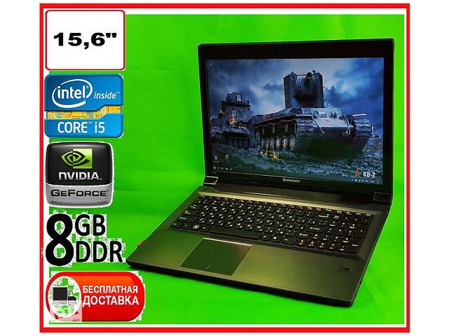продам ИГРОВОЙ ноутбук Lenovo: Intel Core I5 Geforce 8Gb. БЕСПЛАТНАЯ доставка бу в Северодонецке