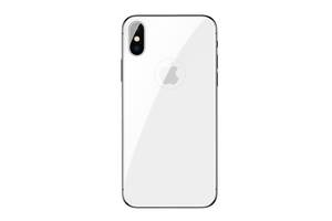 Захисне скло Захисне скло Baseus 0.3mm All-coverage Arc-surface Back s Film Silver for iPhone X