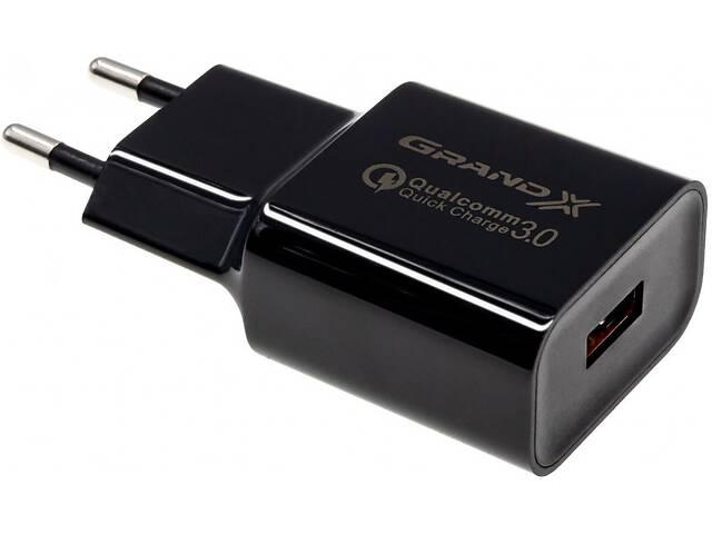 Зарядное устройство Grand-X Charge QС3.0 (CH-350TC) + кабель USB-Type C- объявление о продаже  в Харкові