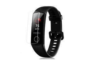 Защитная пленка для фитнес браслета Huawei Honor Band 5/4, комплект - 2 пленки