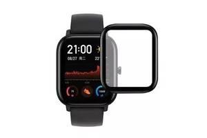 Защитная стекло Xiaomi Amazfit GTS Black (Код товара:10673)