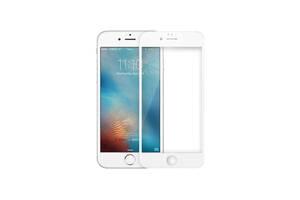 Защитное стекло 3D Full Cover для iPhone 6 Plus/6S Plus Белый|Полное покрытие|айфон 6/6с плюс